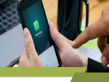 Whatsappen in plaats van e-mailen met je collega's wordt steeds populairder,Werkgerelateerd whatsappen met collega's?