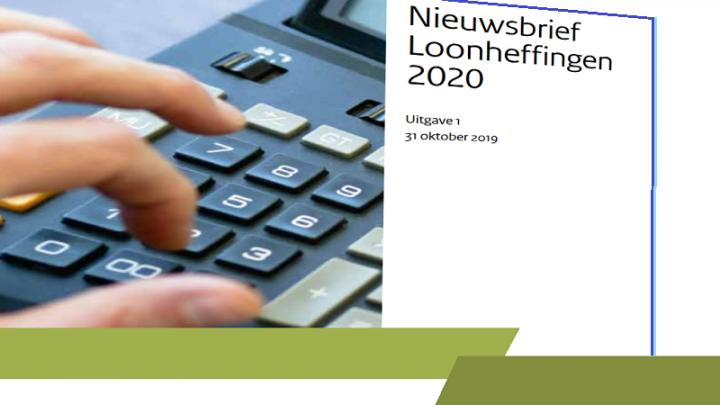 Nieuwsbrief Loonheffingen 2020, loonheffingen 2020, belastingdienst 2020, overheid 2020, loonheffing 2020, nieuwsbrief loonheffing 2020,